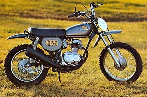 1974 HONDA XR75 VINTAGE MINI BIKE MINICYCLE PHOTO