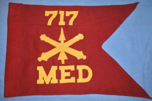 1959 Guidon for the 717th Air Defense Artillery, Medical Detachment