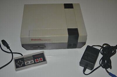Nintendo NES Konsole ORIGINAL NTSC / USA Version - für USA / NTSC Spiele
