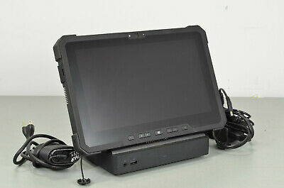"Dell Latitude 12 7202 Core M 1.2GHz 8GB 128GB 11.6"" Win 10 Rugged Tablet -w/Dock"