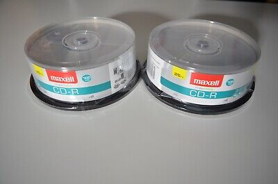 Maxell 625732 CD-R Music, Data, Discs 50 Count, 80 min; 700 MB