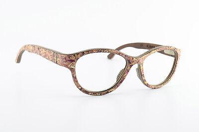 WOODONE Holz Brille ALANYA 10 M Mywoodi Südtirol Designer Wood Eye Frame Woman