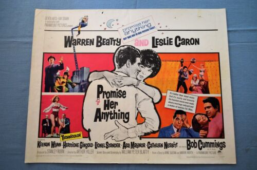 """Vintage Movie Poster, """"Promise Her Anything"""" (1965)"""