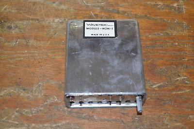 Replacement Modules To Repair Wavetek 3001 Am Fm Signal Generator