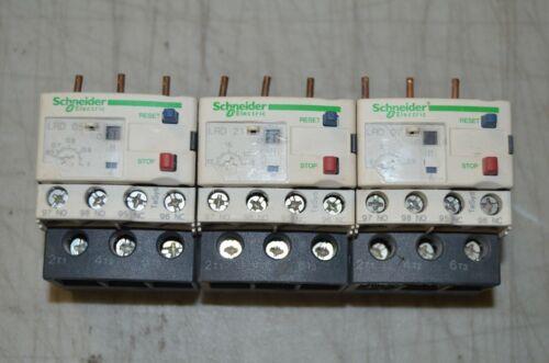 Set of 3 SCHNEIDER ELECTRIC Overload Relays,12 to 18A,3P,Class 20,690V