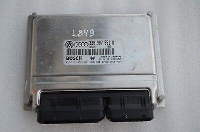 L-849 VW/AUDI ENGINE CONTROL UNIT ECU 3B0907551Q / 0261206387 / 0003