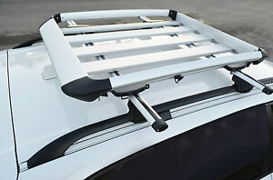 Audi-Q5-Q7-Alloy-Aero-Roof-Rack-Box-Luggage-Basket-Storage-Carrier-Cage