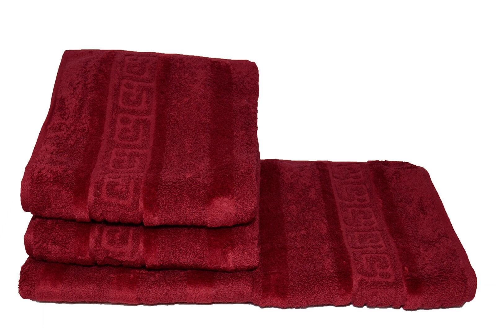 Cawö Noblesse 2x Handtuch Gr. 50 x 100 bordeaux 280 Duschtücher online kaufen