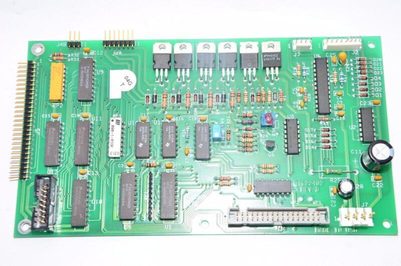 DANAHER CONTROLS PARTLOW 04622402 PC BOARD REV B Circuit Board