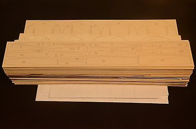 Giant 1/10 Scale B-17 FLYING FORTRESS Laser Cut Short Kit & Plans 125 in. WS