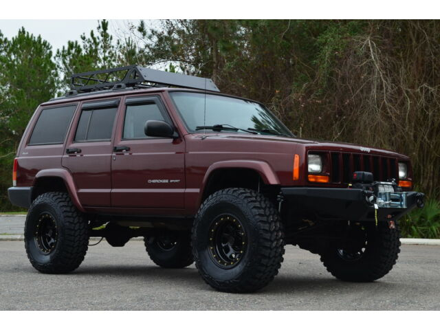 """Cherokee Xj For Sale >> 2000 Jeep Cherokee Sport 4x4 Xj Fully Built 4.5"""" Zone Lift 33's Winch Low Miles! - Used Jeep ..."""