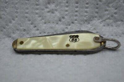 Vtg PHILLIPS 66 Advertising UTICA Folding Knife-Boss Oil Co. Lake City,Minn