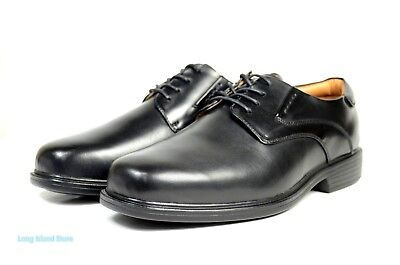 Mens Wide Dress Shoes - La Milano Mens Dress Shoes Genuine Leather black, Extra wide (EEE) lace up A1719