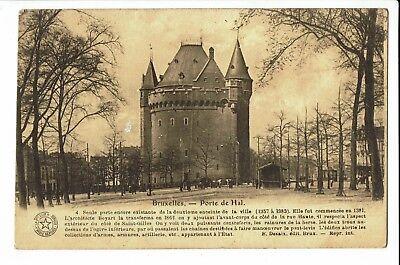 CPA - Carte postale -BELGIQUE-Bruxelles  - Porte de Hal -S1506