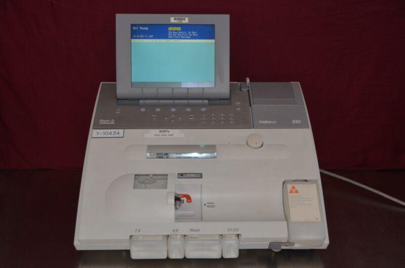 Bayer Diagnostics Rapidlab 840 Blood Gas Analyzer 475840
