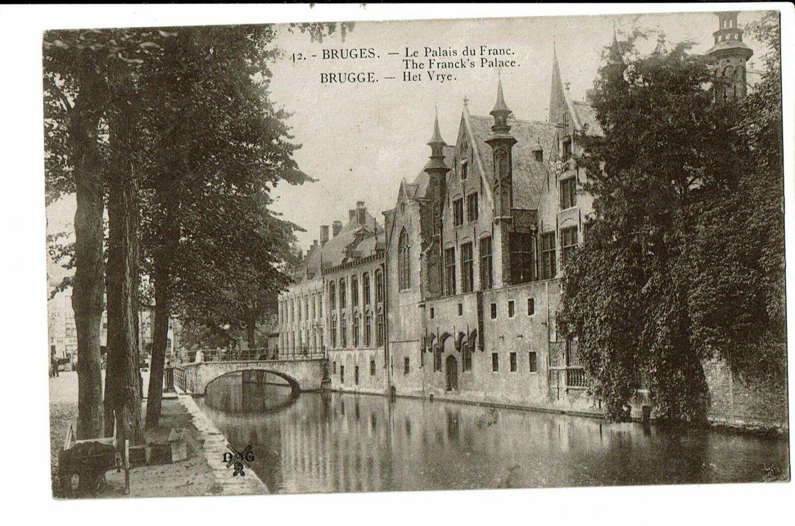 CPA - Carte postale- Belgique -Brugge-Le Palais du Franc  1923-  VM1620