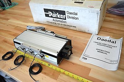 New Parker 506006et Linear Ballscrew Actuator W Encoder Nema23 - Thk Cnc Z-axis