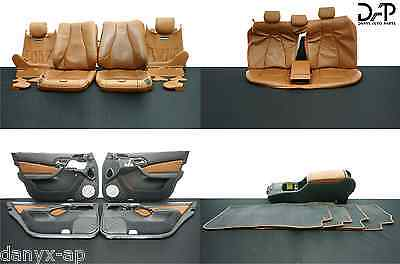 ✔DAP W220 MERCEDES 00-02 S CLASS DESIGNO COMPLETE SEAT SKINS TRIM DOOR PANEL #90