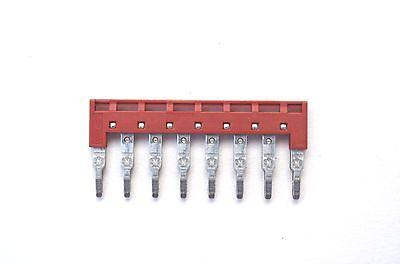 Din Rail Terminal Block Jumpers 5 Quantity Dss4n-08p Dinkle 10 Awg 10 Pole Dk4n
