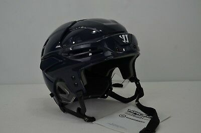 8e048bec55f Warrior Krown 360 Ice Hockey Helmet Navy Size Small 6 1 4 - 6 3 8 (1105)