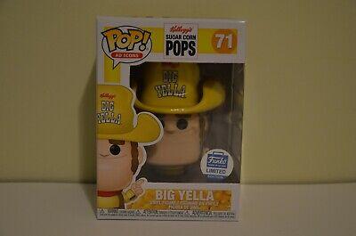 Funko Pop! Big Yella #71 Sugar Corn Pops Shop Exclusive