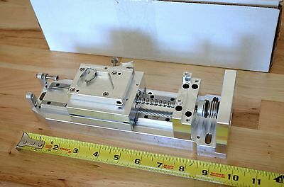 New Techmetric Precision Linear Actuator Slide Positioner Stage Nema23 - Cnc Diy