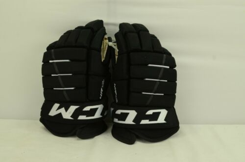 CCM 4R Lite Pro Ice Hockey Gloves Senior Size 14 Black/White (0402)