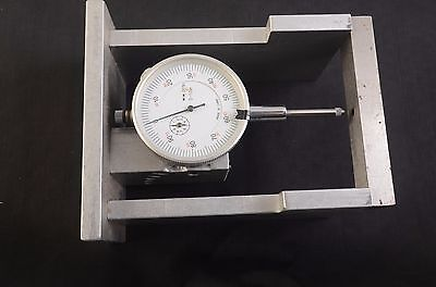 Dial Indicator Aluminum Stand Gauge Scale Precision Base Holder .001