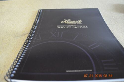 HERMLE SERVICE MANUAL set of 1 for project