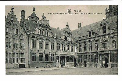 CPA-Carte postale -  BELGIQUE -Veurne - Hôtel de Ville-  S3910