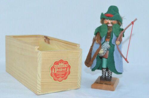 "Steinbach Robin Hood 5.5"" Nutcracker Limited Ed #6694 Christmas No Lid Germany"