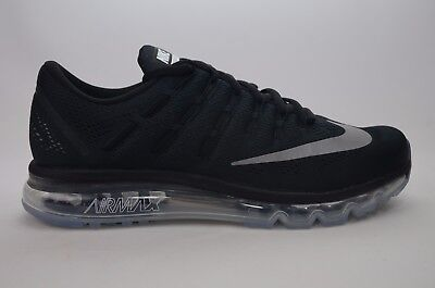 Nike Air Max 2016 Black White Mens Running Size 8 13 New In Box 806771 001