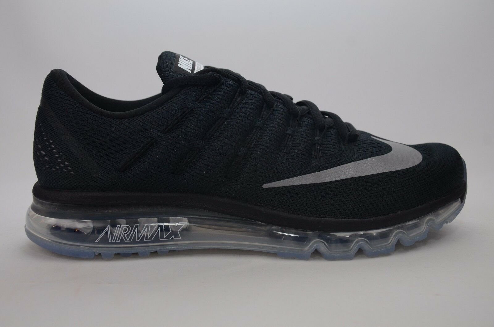 Nike - Nike Air Max 2016 Black/White Men's Running Size 8-13 New in Box 806771 001