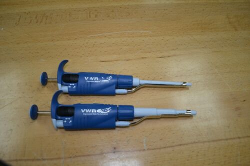 VWR high performance single channel pipette pipet  100-1000 and 20- 200