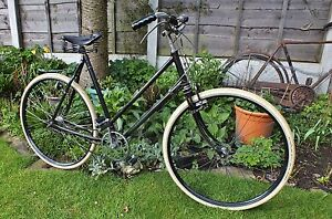 Vintage 1937 English Humber Bicycle (Pre-Raleigh Bike Old Antique 3 Speed)