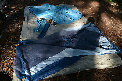 THE NORTH FACE Vintage 3 Season Backpacking Camping Tent ~ 4.5 lbs ~ 7' x 4'