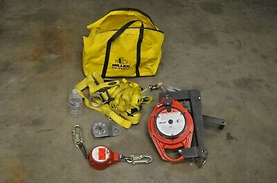 Nice Miller Winch M52-50g Harness Miller Mini Lite Fl11-811ft Confined Space