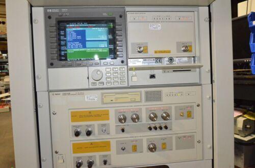 HP Agilent 70004A Display & 70842B Error Detector