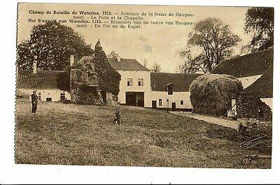 CPA - Carte postale -Belgique-Waterloo- Champ de bataille: Ferme de Hougoumont