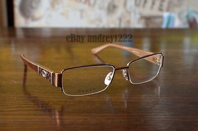 GUCCI  (Exhibition sample in store!!!) GG 2878 M12 135 BROWN & GOLD EYEGLASSES