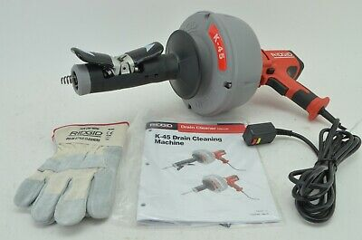 Ridgid 35473 K-45af Autofeed Drain Cleaning Machine With C-1 516