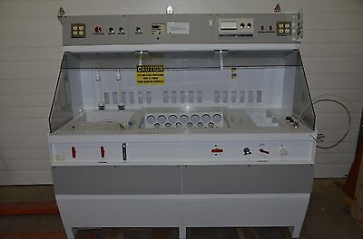 Immersion Developer Nitrogen Water Cascade 6 Wet Chemistry Dip Bench W Timer