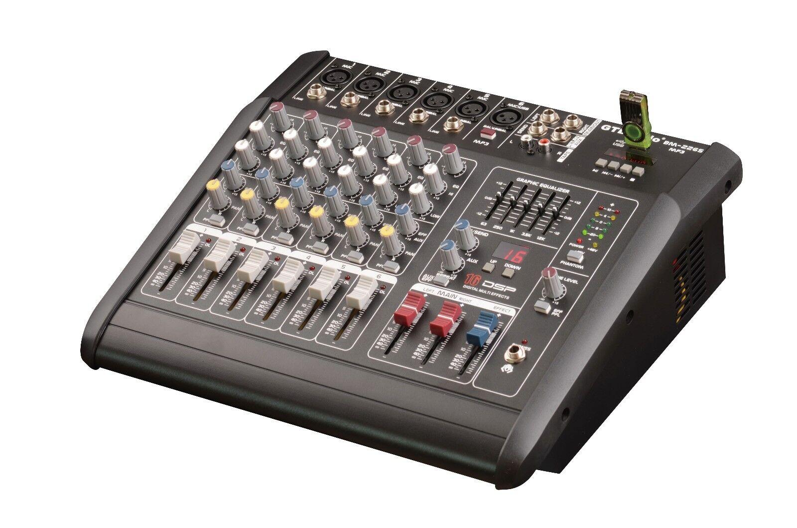 Schematic Wiring Diagram Audio Mixer 6 Channel Circuit