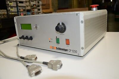 Schleuniger Cp-1250 Ps9500 Wire Coiler Controller