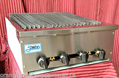 New 24 Radiant Charbroiler Gas Grill Stratus Srb-24 1122 Commercial Restaurant