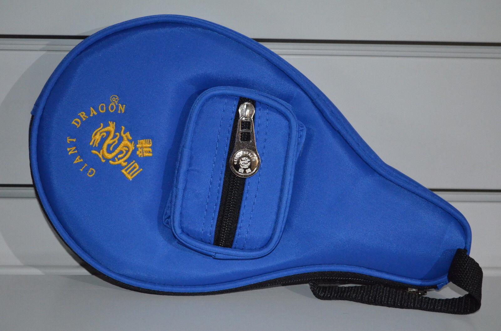B-Ware Schnäppchen Tischtennis Profi 2er Set TT-Schläger mit blauer Hülle!