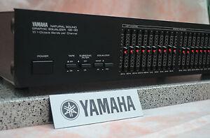 YAMAHA  GE-30  2x10 Band Stereo Graphic Equalizer  110V