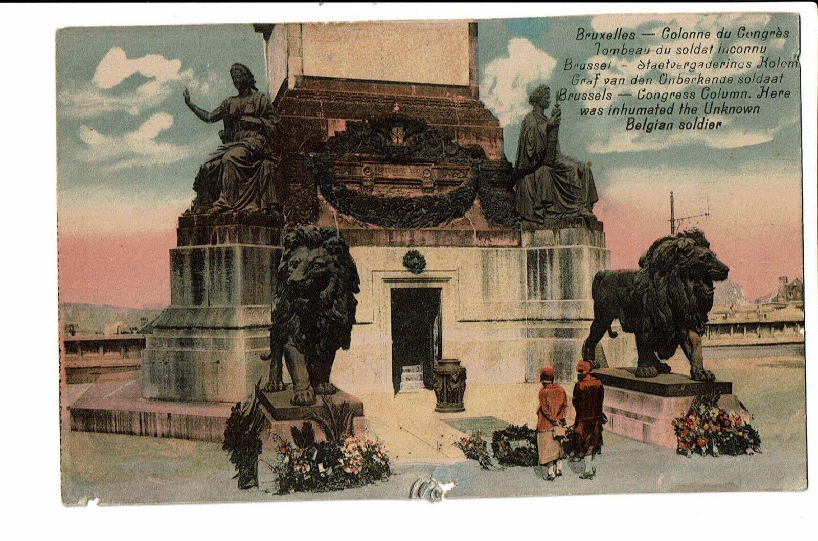 CPA-Carte postale-BELGIQUE-Bruxelles -Tombeau du Soldat Inconnu --S2939