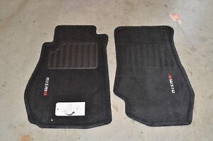 NEW Genuine OEM Nissan NISMO Carpeted Floor Mats - Black  74902-RNZ30