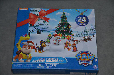 Paw Patrol Advent Calendar Brand New Sealed Christmas Gift Spin Master 24 Gifts!
